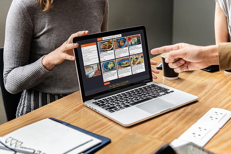 Thực khách và nhà hàng đều cần thời gian làm quen với menu online